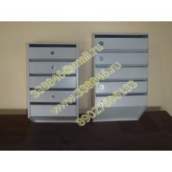 Почтовые ящики вертикальные многосекционные