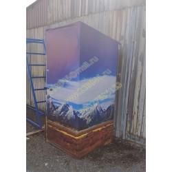 """1400 Туалет стилизованный под горы """"ГОРА"""""""