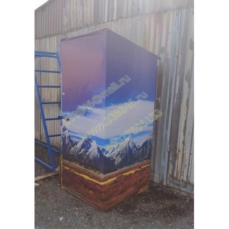 """1400 Туалет стилизованный под горы """"""""ГОРА"""