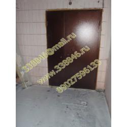 091 Дверь, двери на мусорные помещения