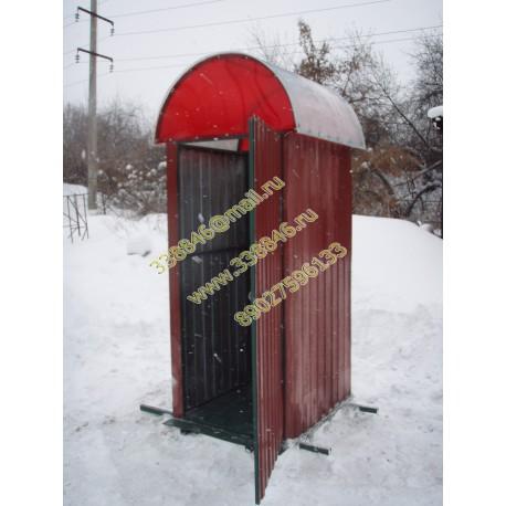 Туалет производственный, уличный,