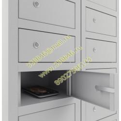 """Шкаф  для хранения моб. телефонов """"Сотовик-117 L200"""" доп.секция"""