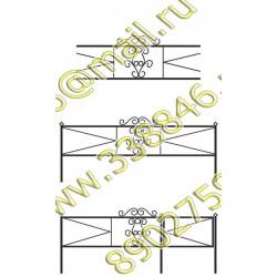 Ограда на могилу АМ5095