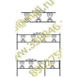 Ограда на могилу 03