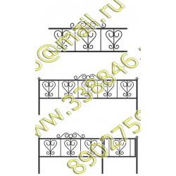 Ограда на могилу 04