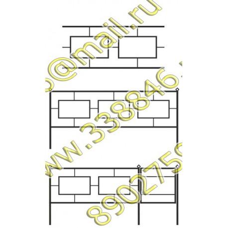 Ограда на могилу АМ5097