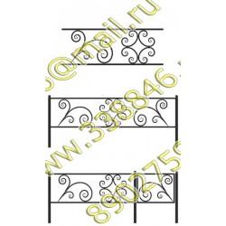 Ограда на могилу 20